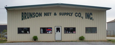 Brunson Net & Supply - commercial fishing, sports and environmental nets