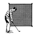 #18 Golf Practice Screens