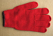 Red Working Gloves