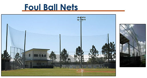 Foul Ball Screens