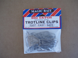 Stainless Trotline Clips