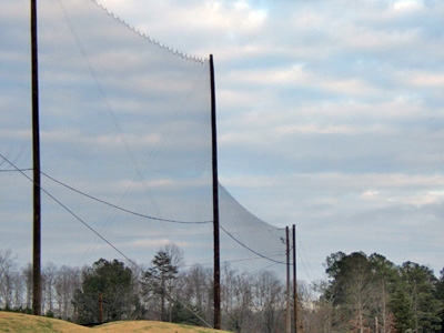 Backstop Net image - made by Brunson Net & Supply Inc.