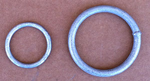 Welded Galvanized Rings